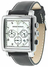 Classic Emporio Armani Armbanduhren aus Edelstahl