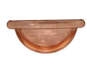 Kupfer-Rinnenboden, halbrund zum Falzen