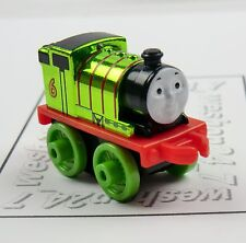 THOMAS & FRIENDS Minis Train Engine 2015 METALLIC Percy ~ NEW ~ Weighted