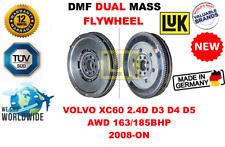 Pour Volvo XC60 2.4D D3 D4 D5 AWD 163/185BHP 2008-ON Neuf Dual Masse Dmf Volant