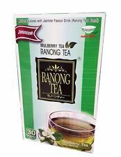 Ranong Tea MULBERRY TEA with Jasmine Herbal High Anti-Oxidant Healthy 30 Teabags