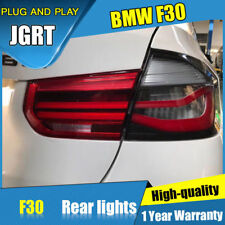 For BMW F30 320 328 330 M3 Dark/Red LED Rear Lights Assembly LED Taillight 13-18