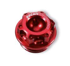 Ducati Bouchon de remplissage d'huile Hélice rouge Anodisé Aluminium