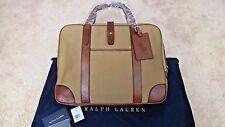 "$895 Ralph Lauren Purple Label ""OAKBURY"" Proprietor Briefcase Messenger Bag Polo"