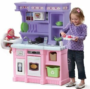 Little Bakers Kids Play Kitchen with 30 Piece Accessory Play Set Girls Gift