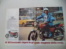 advertising Pubblicità 1980 MOTO KAWASAKI Z400 Z 400 B