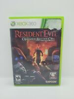 Resident Evil: Operation Raccoon City Complete In Box (Microsoft Xbox 360, 2012)