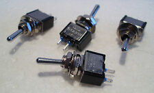 2K281 4 x Mini SPST On-Off Switches Ideal fr Model Railway/Railroad Use 2nd Post