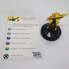 Heroclix X-Men: Days of Future Past set Rachel Summer #010 Uncommon fig w/card!