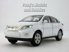 4.5 Inch Lexus RX 450h Scale Diecast Metal Model - WHITE