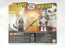 New LEGO NINJAGO LEGACY Wu Vs Skulkin Blister Pack Set 112007 Mini Figure Toy