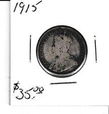 Canada 1915 25 cent silver Quarter