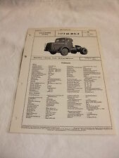 Werbung Reklame VDA-Typenblatt Oldtimer Datenblatt LKW FAUN F 68 - 40 S - Z 1955