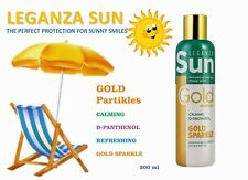 LEGANZA SUN Refreshing After sun Tonic with gold particles, CALMING, D-PANTHENOL