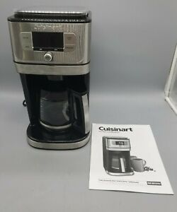 Cuisinart DGB-800 Burr Grind & Brew Coffeemaker, Stainless Steel - Very Clean