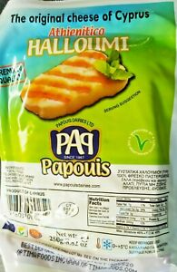 2x Halloumi Saganaki Authentic Cyprian Cypriot Cheese Product of Cyprus Papouis