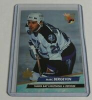 MARC BERGEVIN - 2016/17 FLEER SHOWCASE - 92/93 ULTRA BUYBACK - #1/25 -