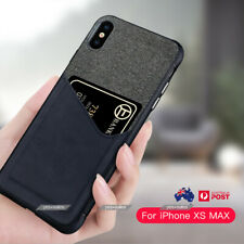 New PU Leather Cloth Wallet Card Holder Case Cover iPhone XS MAX 11 Pro Max XR