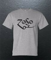 Led Zeppelin Zoso Classic Rock Band T-Shirt Blend S M L XL