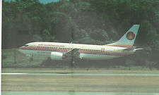 Air Guadeloupe  Boeing B-737-33A     Unused  Chrome PC 994 Plane