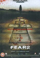 "Fear 2 Project Origin ""Friday 13th"" 2009 Magazine Advert #4617"