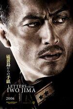 LETTERS FROM IWO JIMA Movie POSTER 27x40 Ken Watanabe Kazunari Ninomiya Shido