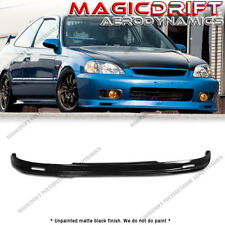 For 99-00 Honda Civic 2DR EK Coupe MU MUGN JDM Front Bumper Chin Lip Urethane
