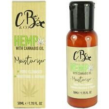 Hemp Daily Face Moisturiser Hydrating Dry Skin Anti Ageing Oil By Cougar