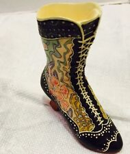 Retired 1998 Just The Right Shoe #25015 Deco Boot