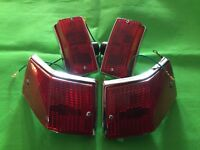 Set of 4 Smoked Indicators /& Chrome Surrounds Vespa PX T5 LML 2T 125 150 200