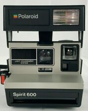 Polaroid Spirit 600  LMS Instant Film Camera VTG 1980's Tested Working