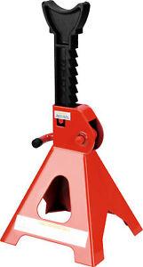 2X3Ton Axle Stands Lifting Capacity Stand Jack Pair Heavy Duty Car Caravan Floor