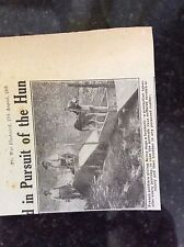 a1l ephemera 1918 ww1 picture french soldiers give army dogs a bath