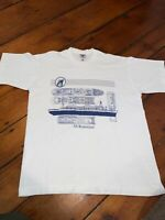 Vintage White SS Rotterdam Tee Shirt Adult Size Large