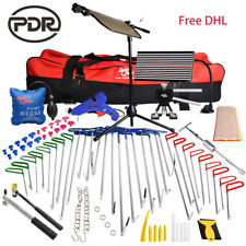 PDR Tools Paintless Dent Removal Set Auto Body Hail Repair Puller Hooks Kits