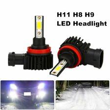 H11 H9 H8 LED Headlight Bulds 6000K White 4 Side Low Beam bulbs High Power Cars
