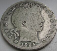 1895 Barber Silver Half Dollar in a SAFLIP®