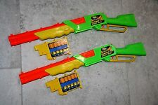 Buzz Bee Rapid Fire Tek Rifle Shell Dart Gun Old Style Cosplay Toy Blaster Clip
