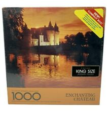 New Vintage Sprinbok King Size Jigsaw Puzzle Enchanting Chateau 1000 Pieces