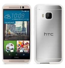 Griffin HTC One M9 Reveal Thin Slim Hard Case Cover Clear Free Screen Protector
