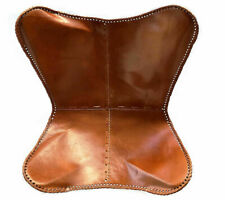 Leather (Only Cover) by The Leather Cart Butterfly Chairs Living Room in Genuine
