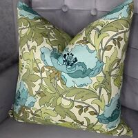 """Decorative Cushion Cover 18"""" Designer iLiv Fabric , Floral Design Country Style"""