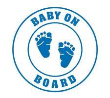 Baby on Board car window decal - version 9