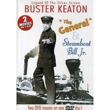 Buster Keaton: The General/Steamboat Bill Jr On Dvd Like New