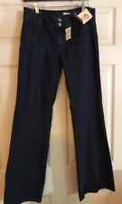 Olsenboye Women's Flare Eclectic Influence Dark Wash Jeans Size 9 Nwt