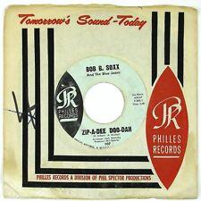 BOB B. SOXX &  BLUE JEANS Zip-A-Dee Doo-Dah/Flip & Nitty 7IN 1962 NORTHERN VG+