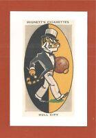 HULL CITY AFC  HCAFC New Postcard  The TIGERS  Boothferry Park KCOM Stadium