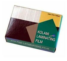 Id Card Coating Id Card Laminating Film Pouch 60x90mm 100 Sheets 100micron