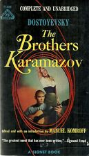 The Brothers Karamazov Dostoyevsky GGA 1958 Vintage Paperback