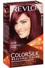 Revlon Colorsilk 3D Color Technology 49 Auburn Brown (Lot Of 3)
